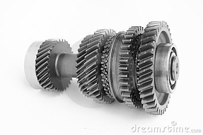 Mechanical gear in BW