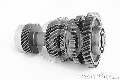 Mechanical gear in BW