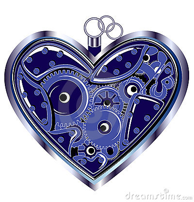 Mechanical Valentine heart