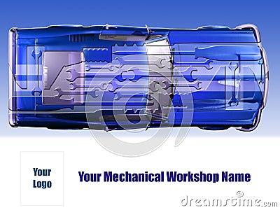 Mechanical workshop card