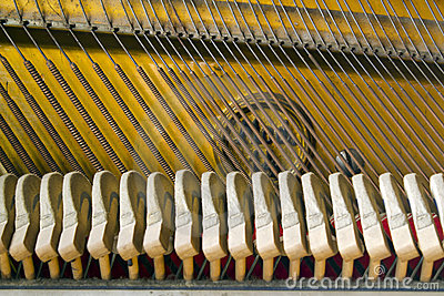 Mechanics of grand piano