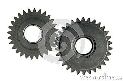 Mechanism with cog-wheels