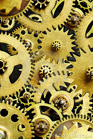 Free Mechanism From Old Gears Royalty Free Stock Image - 8835256