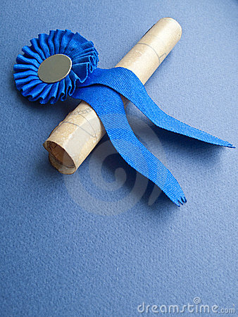 Free Medal And Diploma Stock Photo - 8642410