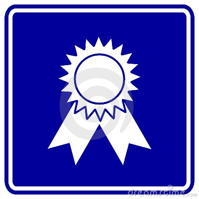 medal award vector sign