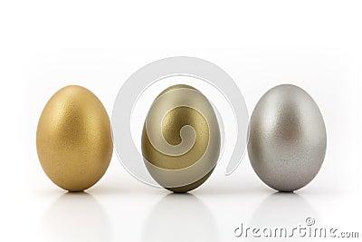 Medal eggs