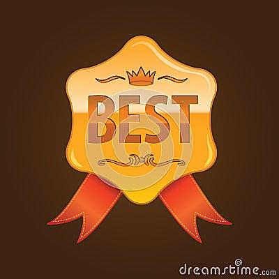 Medal for 1st plase