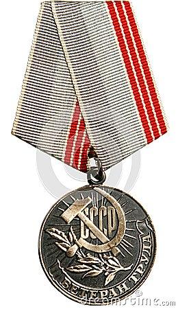 Medal USSR.