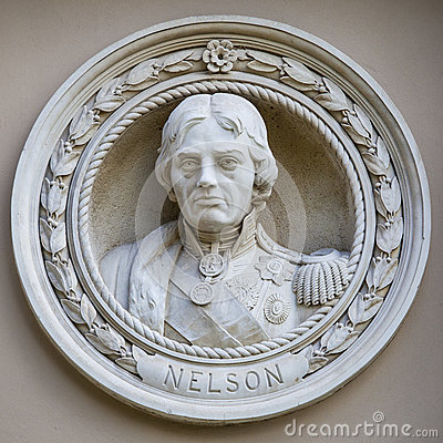 Free Medallion Bust Of Horatio Nelson In Greenwich Royalty Free Stock Photography - 57828097