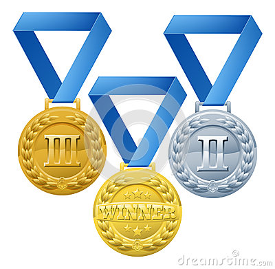 Medals Illustration