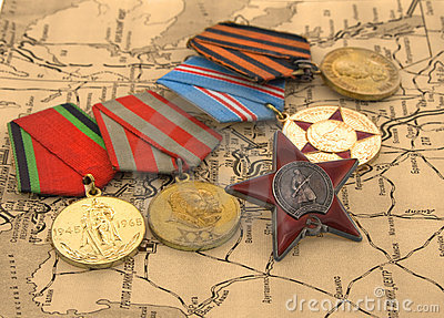 Medals on the map