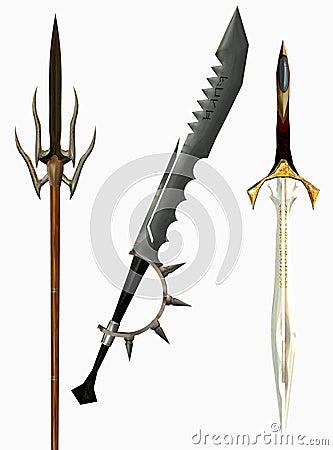 Medeltida svärd
