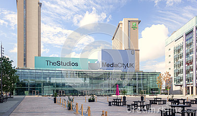 Media City  Manchester Editorial Photography