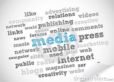 Media e pressa