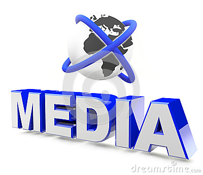 Media global concept