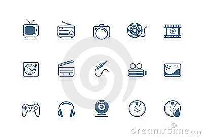 Media icons | piccolo series