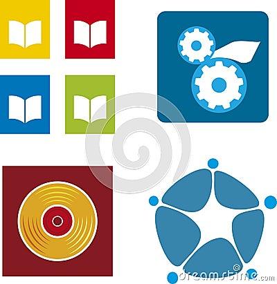 Media logos (vector)