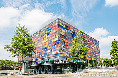 Media Museum in Hilversum teh Netherlands Editorial Stock Image