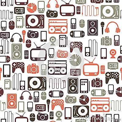Free Media Pattern Stock Image - 22424231