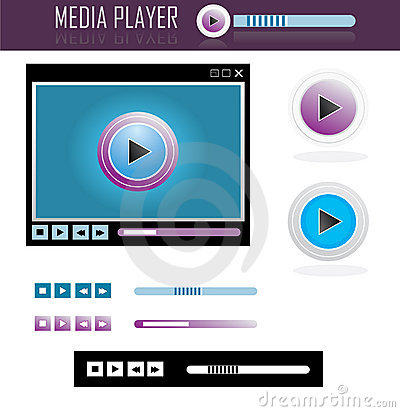 Media player design set