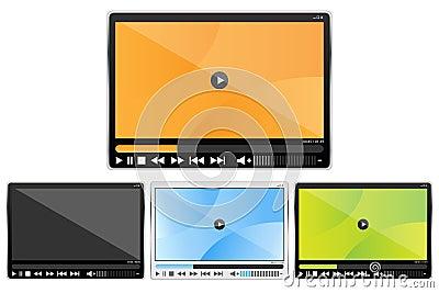Media player set