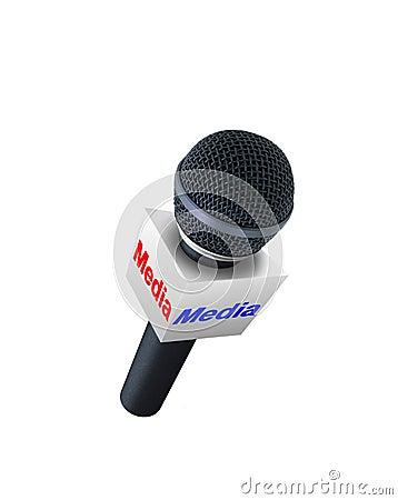 Media report microphone