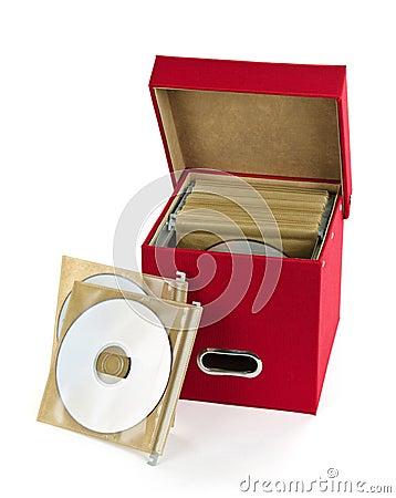 Media storage box