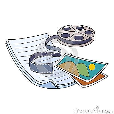 Media storage vector