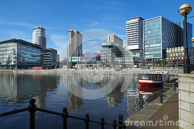 MediacityUK Editorial Stock Image