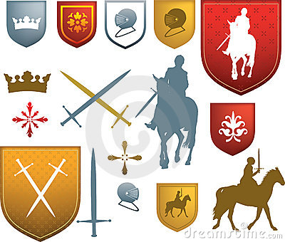 Mediaeval icons and emblems
