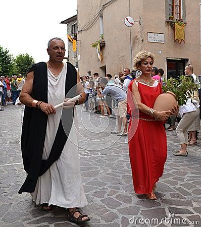 Free Mediaval Festival In Italy Royalty Free Stock Photos - 80727608