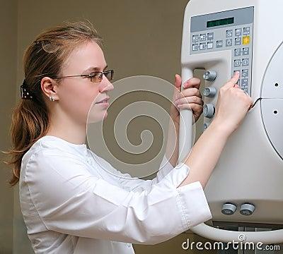 Medic laboraty assistant doctor