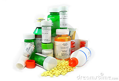 Medicaciones de la prescripción y del Non-Prescription