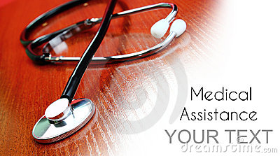 Medical assistance background