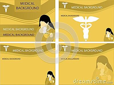 Medical backgrounds