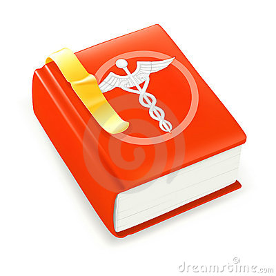 Free Medical Book Royalty Free Stock Photography - 13250197