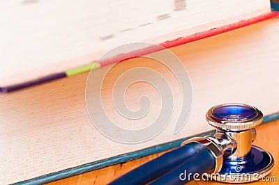 books stethoscope