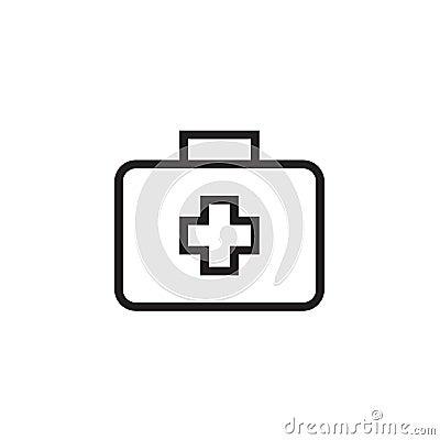Free Medical Box Icon Vector Illustration, EPS10 Royalty Free Stock Photography - 109979327