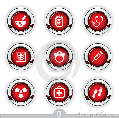 Medical button series