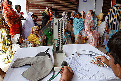 Medical camp Editorial Image