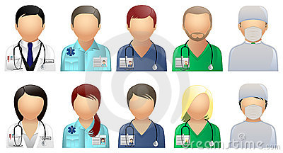 Medical & Care Avatars and User Icons