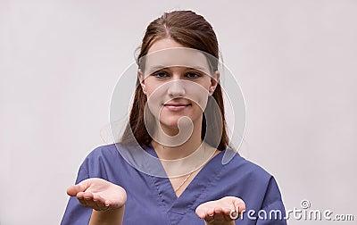 Medical Career Woman Juggling