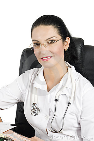 Medical-doctor at office