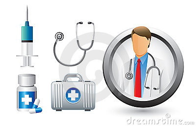 Medical Doctor Tools And Icons Stock Photo Image 20114870