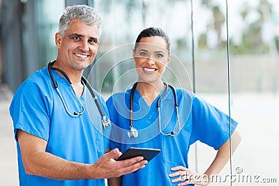 Medical doctors tablet pc