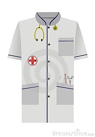 Medical dressing gown