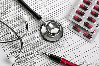 Medical examination form
