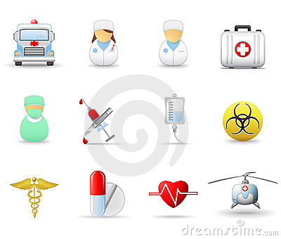 Medical and health-care icons. Part 2