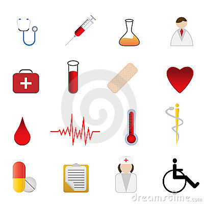 Medical and health care symbols Editorial Photography
