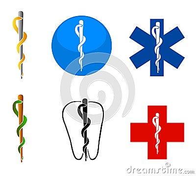 Medical health symbols